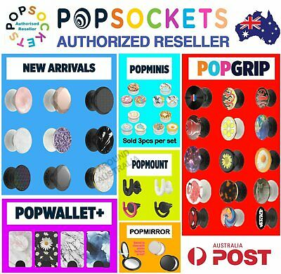 Genuine Popsockets Grip Universal Mobile Tablet Holder Stand Mount Pop socket