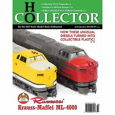 Premiere Issue//1st Edition - 1st Qtr. 2017 HO COLLECTOR BRAND NEW magazine
