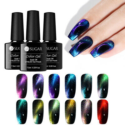 UR SUGAR 7.5ml Gel Polish 9D Magnetic Chameleon Red Soak Off Nail Gel Varnish