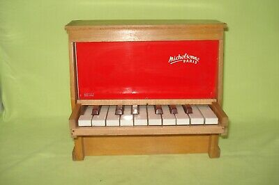 jouet piano michelsonne paris , annee 60 , 16 touches , piano vintage