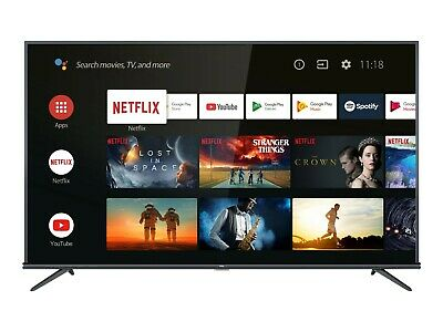 "TV LED TCL 55EP660 55 "" Ultra HD 4K Smart Flat HDR Android Televisore Ultra HD"