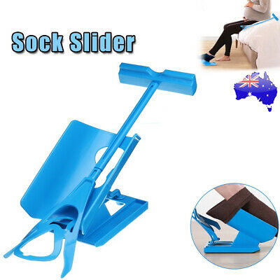 Sock Slider Stocking Aid Puller Assit Disabilty Aid Helper Easy On Easy Off Kit