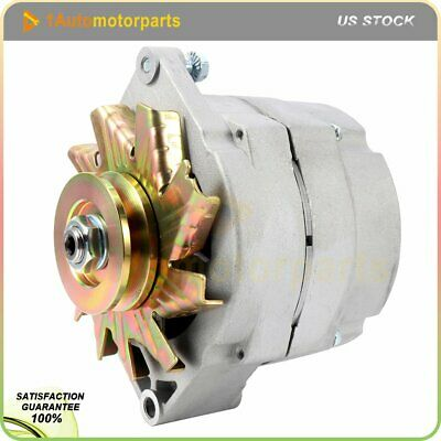 NEW ALTERNATOR HIGH Output Chevy One 1 Wire 105 Amp Delco 10Si Self