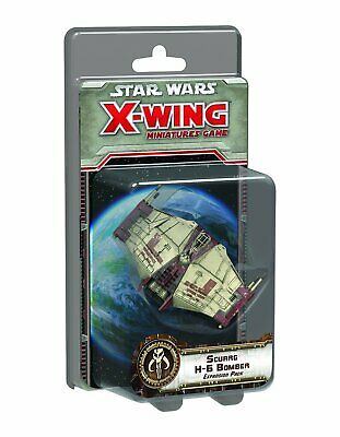 Star Wars X-Wing Miniatures Game: Scurrg H-6 Bomber Expansion Pack