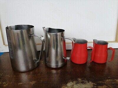 Milk Frothing Jugs - 4 sizes