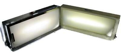 2 - Vtg Dental Schein & Brand Unknown X-Ray Panel Viewers Light Boxes Image -DE3