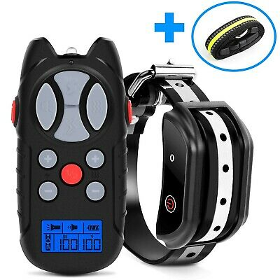 Flittor Shock Collar for Dogs, [2019 Newest] Dog Training Collar, Rechargeable D