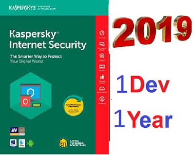 KASPERSKY Internet Security 2019 2020   3 Pc 1 Year device - Global Key ⚡️  -
