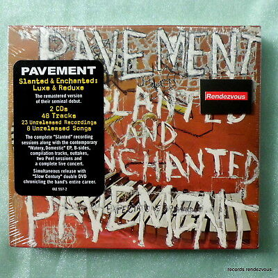 Pavement RARE M US 2-CD Slanted & Enchanted Luxe/Reduxe Sonic Youth Silver Jews