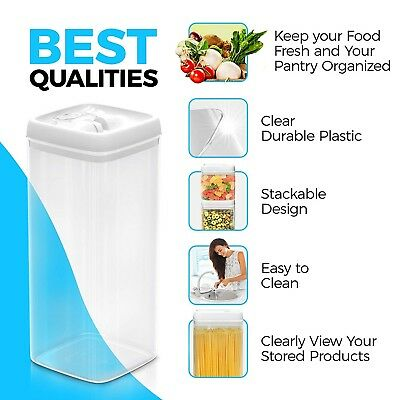 5 Pack Airtight food storage container set