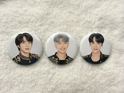 BTS Speak Yourself Japan Edition Can Badge Official Merchandise