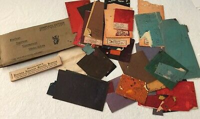 Antique Used Peerless Nicholson Japanese Transparent Water Colors Lot
