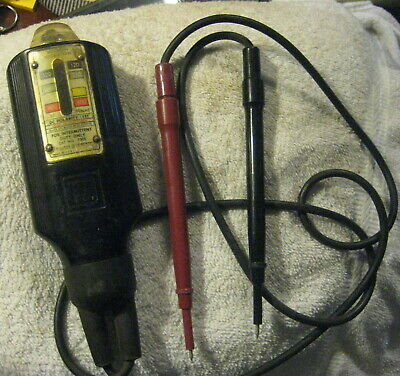 Wigginton Voltage Tester # 5008 SQ D ,square D,works,electrician's meter test