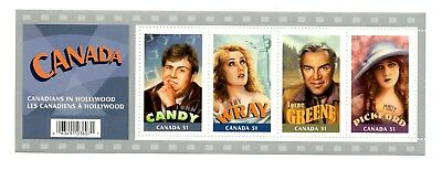 Canada MNH # 2153 Souv Sheet Canadians in Hollywood Candy Greene 2006 K282