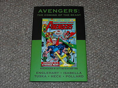 Marvel Premiere Classic # 56, Avengers: The Coming of the Beast Limited Ed. HC