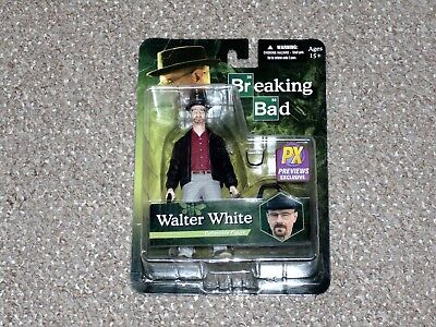 2013 Mezco Breaking Bad Walter White Previews Exclusive Figure MOC Brand New