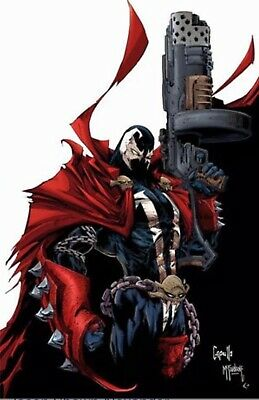 SPAWN #302 Virgin Variant  CAPULLO & MCFARLANE 🔥🔥🔥1st SHE SPAWN
