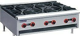 Gas Cook top 6 burner - RB-6E