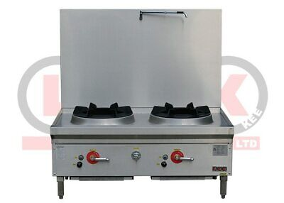 Two Burner Stockpot Cooker - LKK-2BSRL
