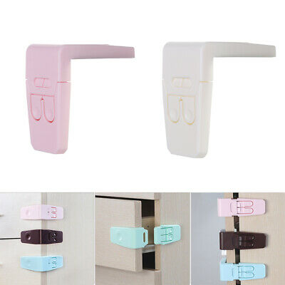 Anti-opening Baby Safety Lock Children Protector Right Angle Wardrobe Door
