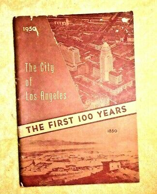 Vintage Publication City Of Los Angeles Ca Yearbook 1949 Welfare Housing 1949