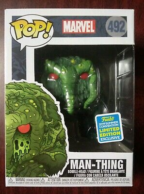 Funko Pop! Marvel Man-Thing 2019 SDCC Shared Exclusive #492