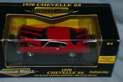 1/43 Scale 1970 Chevy Chevelle Ss 454 Cowl Inducted New Htf