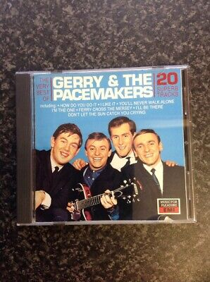 Very Rare Gerry & The Pacemakers Very Best Of CD Near Mint MFP EMI 1993 Release