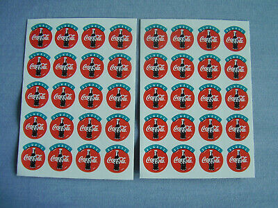 Aufkleber Sticker Coca - Cola Always Music Coke Coca Cola als Posten