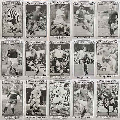 1960s Footballers Card Collector Football Single Player Cards - Various Teams