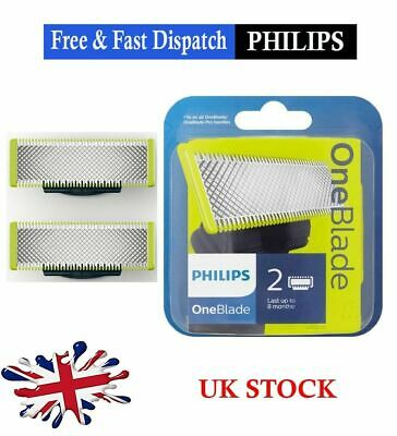 Philips One Blade Replacement blades - Pack of 2 -Fits all One Blade Handles