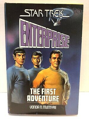 "Star Trek Enterprise: ""The First Adventure"" 1986, Hardbound  Boris Vallejo Cover"