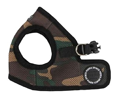 Puppia Soft Vest Harness, X-Small, Camouflage