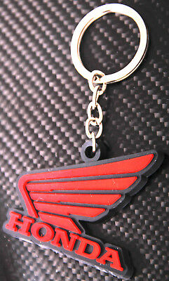 Motorcycle Rubber Keychain Keyring For 2006-2007 HONDA CBR1000RR