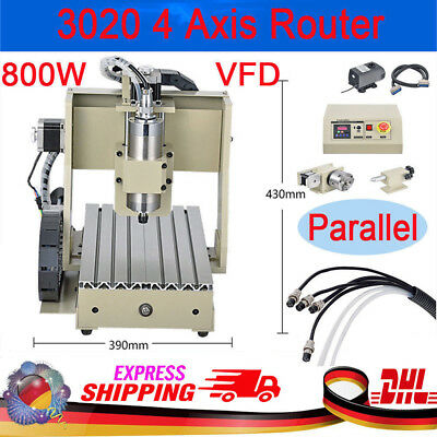 NEW CNC 3020 ROUTER ENGRAVER DRILLING MILLING MACHINE 3 AXIS + MHC2