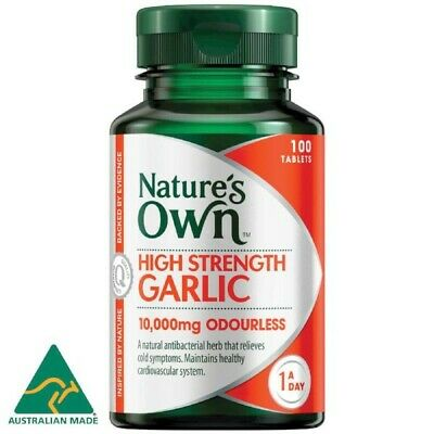 Nature's Own High Strength Garlic 100 Tablets