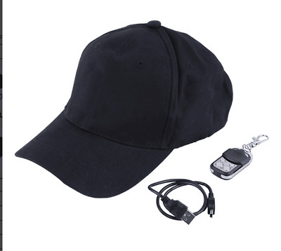 8G Spy Hat Wearable Hidden Camera Video Recorder Camcorder with Audio Recording