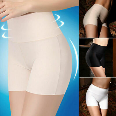 2pcs Women Short Pants Safety Elastic Anti Chafing High Waist Underwear Shorts