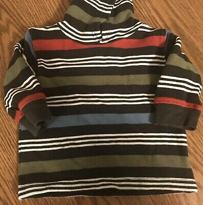 Boys Size 12-18 Months Gymboree Pull Over Hoodie Shirt