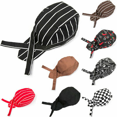 Fashion Canteen  Catering Cooker Skull Caps Pirates Chef Cap Hotel Cook Hat