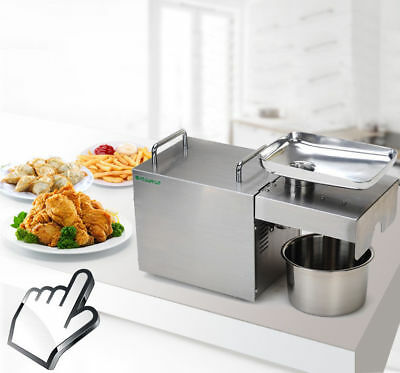 Stainless Steel Oil Extractor Automatic Oil Press Machine for Home & Commercial