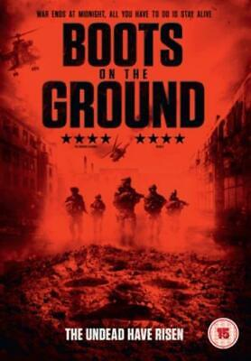 Boots On the Ground =Region 2 DVD,sealed=