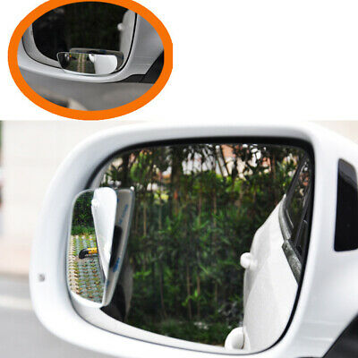 2PCS Universal Auto Car 360° Wide Angle Convex Rear Side View Blind Spot Mirror