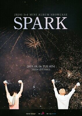 JBJ95 [SPARK] 3rd Mini Album 2 Ver SET 2CD+POSTER+2Photo Book+2Film+2Card SEALED