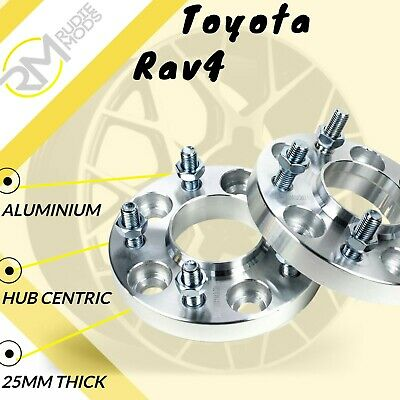 Toyota Rav4 5x114.3 60.1 25mm Hubcentric wheel spacers 1 Pair