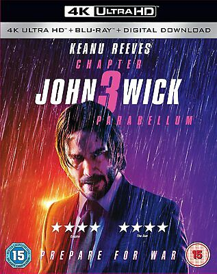 John Wick: Chapter 3 - Parabellum (4K Ultra HD) Keanu Reeves, Halle Berry