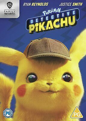 Pokémon Detective Pikachu [2019] (DVD) Ryan Reynolds, Justice Smith