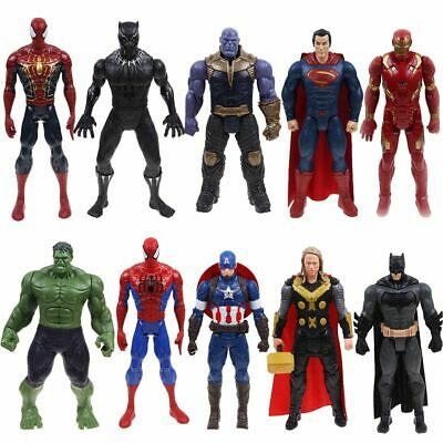 "12"" Marvel Avengers Infinity War 3 Titan Hero Thanos Thor Hulk Figure Kids Gifts"