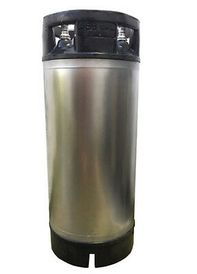 Completely Refurbished Used AEB 5-gallon ball lock keg -- Two-Pack!