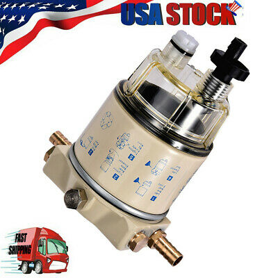 Brand New Fit For R12T Boat Marine Spin-on Fuel Filter/Water Separator 120AT US